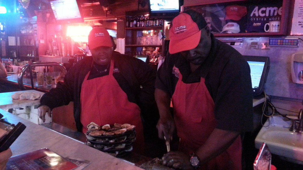 Acme Oyster 15 Dozen Challenge Completed